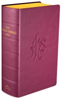 Daily Missal (latin/eng, 1962), vinröd