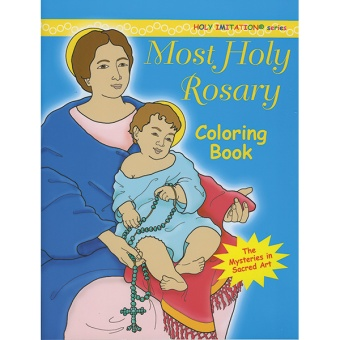 Most holy Rosary - coloring book