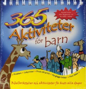 """365 aktiviteter för barn - """"årskalender"""""""