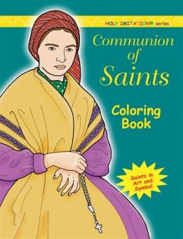 Communion of Saints - coloring book