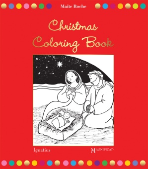 Magnificat Christmas coloring book