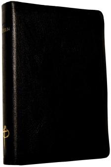 Bibel 2000 - svart skinn, guldsnitt