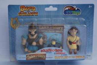 Actionfigurer David och Goliat