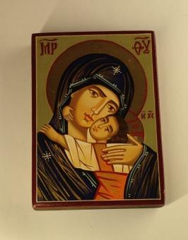 Ömhetens Gudsmoder (7x10), äkta ikon