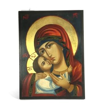Maria Theothokos, realistisk (äkta ikon)