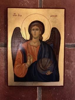 Ärkeängeln Mikael (22x30), äkta ikon