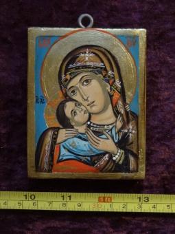 Ömhetens Gudsmoder (8 x10), äkta ikon