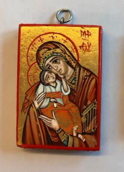 Ömhetens Gudsmoder (3x4), äkta ikon