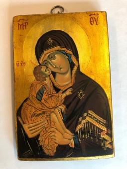Ömhetens Gudsmoder (11x16), äkta ikon
