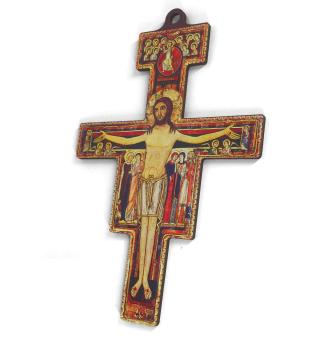 San Damiano-kors, mellan