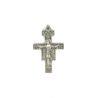 San Damiano-kors, metall, 64mm