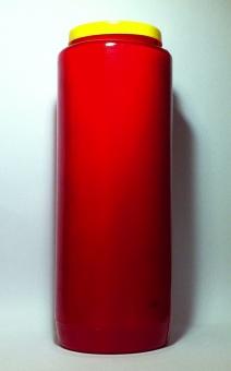 S.k. evighetsljus, rött, 9-dagars