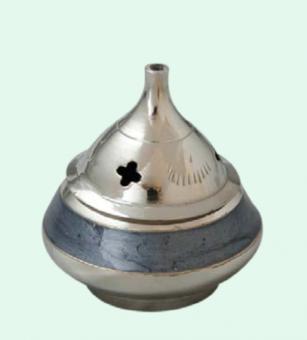 Rökelsekar mini, blått- o silverfärgat