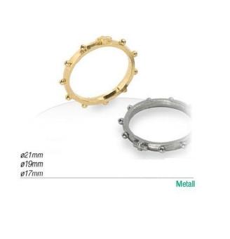 06 Rk-ring 06: guldfärgad, 21mm