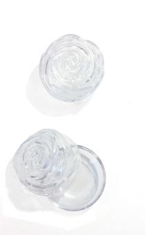Rosenkransask, rosformad, 55mm, plast