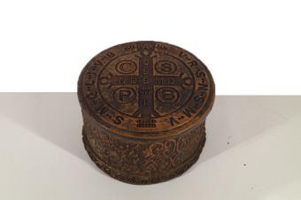 Rosenkransask benedictus-medalj