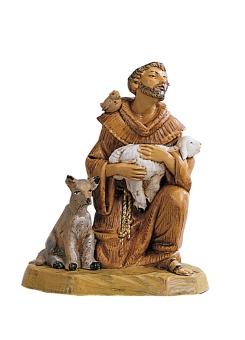 Franciscus, Assisi, con cane, 11 cm