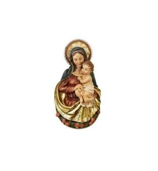 Maria med Jesusbarn (väggstatyett)