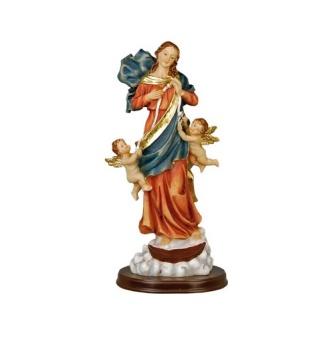 Maria med änglar - 30 cm