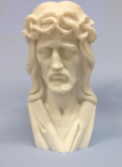 Kristus m törnekrona, alabaster