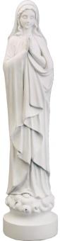 Maria, stående, vit (46cm), polystone