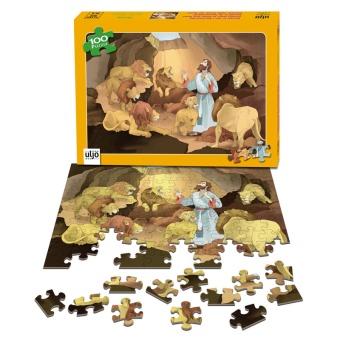 Daniel i lejongropen (Pussel, 100 bitar)