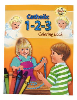 Catholic 1-2-3 - COLORING BOOK