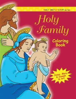 Holy Family Coloring Book