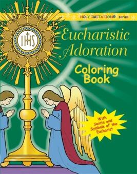 Eucharistic Adoration Coloring Book