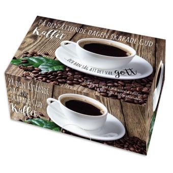 Kaffeask - På den åttonde dagen skapade Gud kaffet