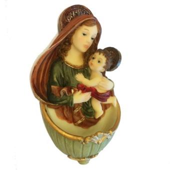 Jungfru Maria och Jesusbarn, vigv.skål
