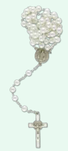 Benedictus-rosenkrans, vita pärlor