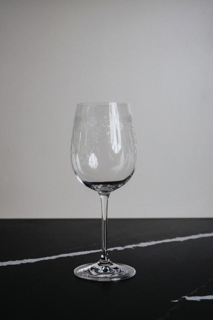 Pigalle Röd/Vitt Vinsglas 450 ml 6-p