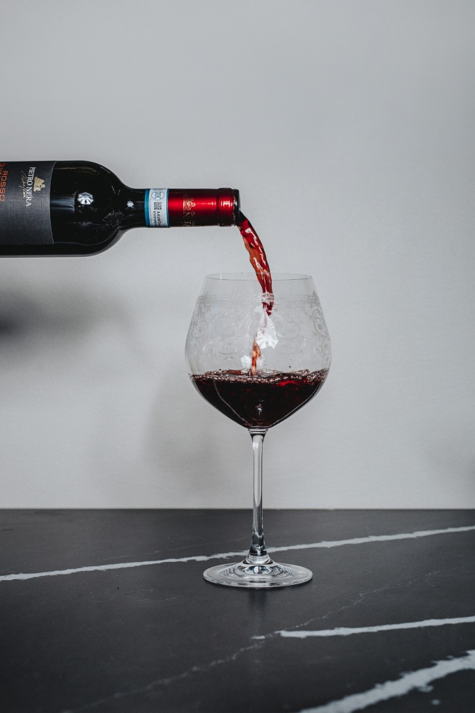 Red Wine Burgundy 650 ml