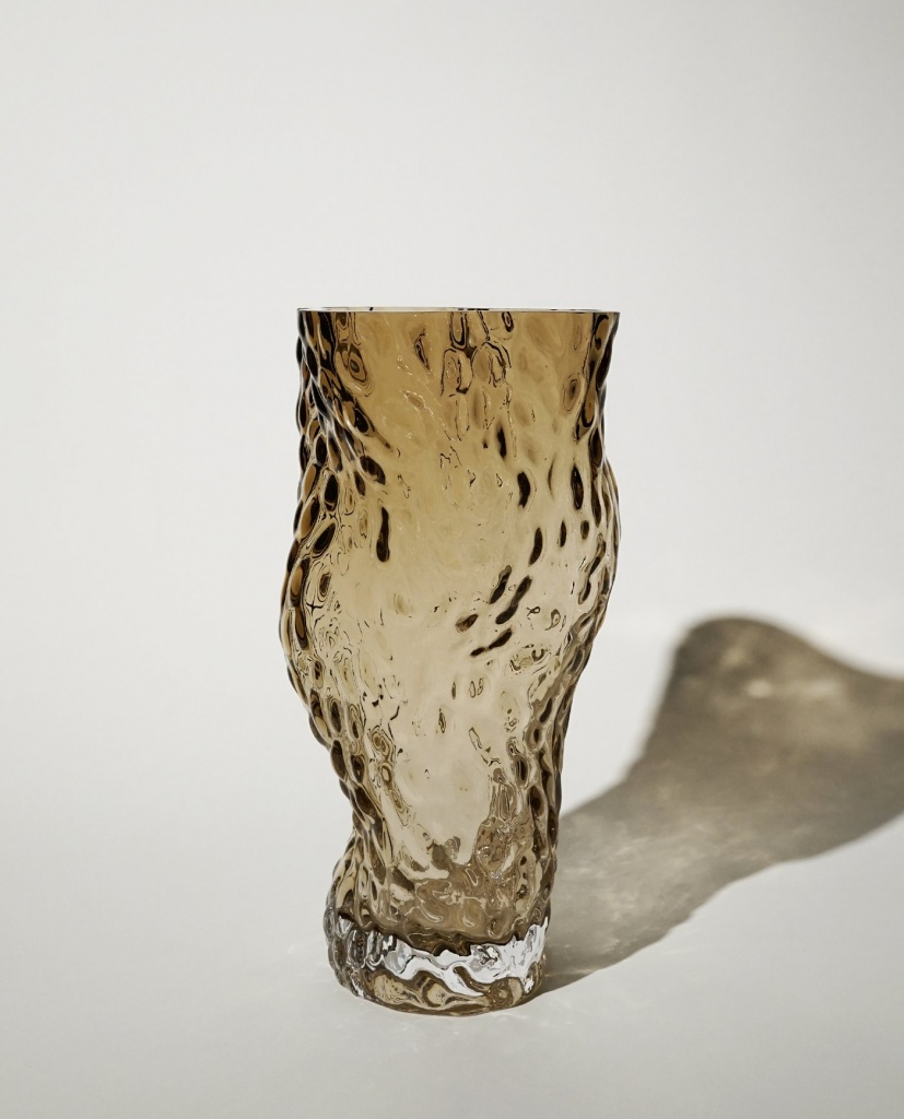 Ostrea Rock Glass Vase