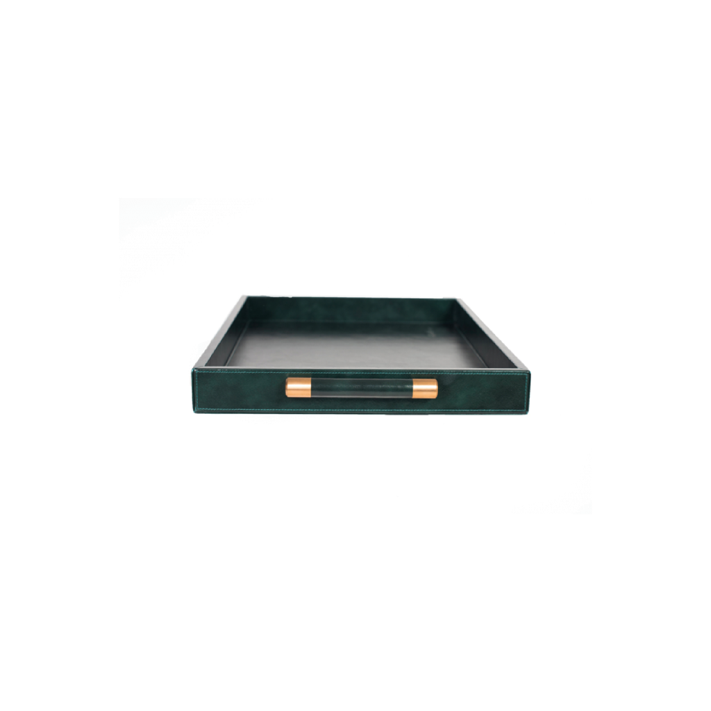Luca Leather Tray