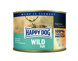 Happy Dog konserv, 100% animalisk, Vilt
