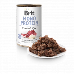 Brit Mono Protein Lamb & Brown rice