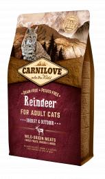 Carnilove CAT Reindeer - Energy & Outdoor