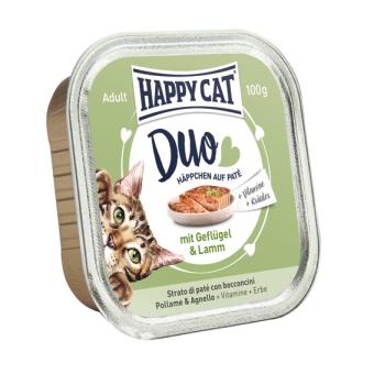HappyCat Duo meny Paté
