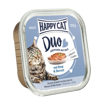 HappyCat Duo meny Paté