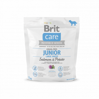Brit Care Grain-free Junior LargeSalmon & Potato