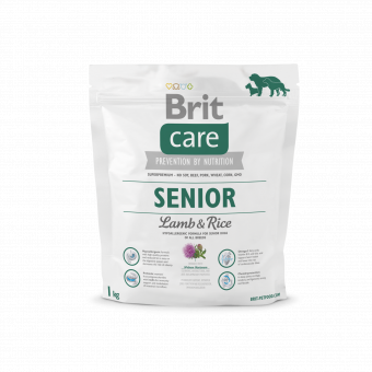 Brit Care Senior Lamb & Rice