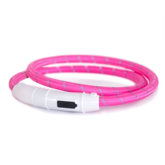 Led-ring reflex blinkhalsband