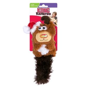 Jul! Kong Cat Holiday Kickeroo Reindeer