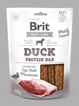 Brit Jerky Snack, Duck Protein Bar 80g