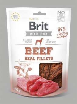 Brit Jerky Snack, Beef Fillets