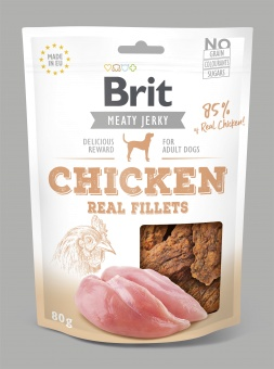 Brit Jerky Snack, Chicken Fillets
