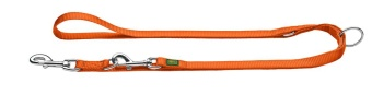 Hunter Nylon ställbart koppel Orange