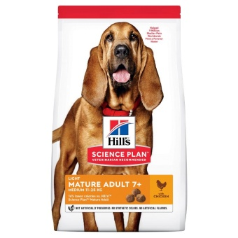 Hills SP Canine Mature Light Medium Chicken